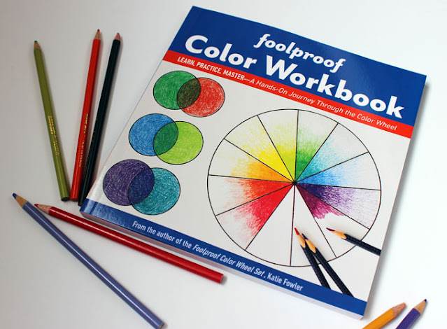 foolproof color workbook and colored pencils