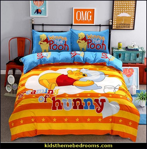 Winnie The Pooh Duvet Cover Winnie The Pooh, bedding Winnie The Pooh bedroom decor