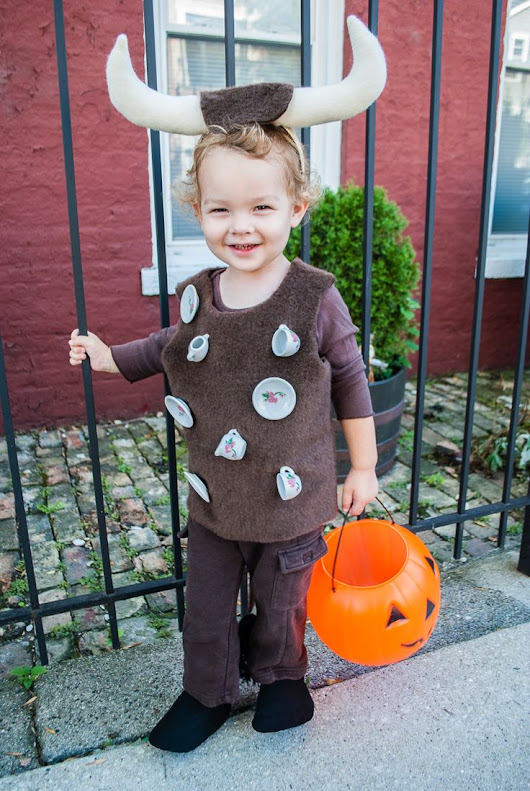 Bull In A China Shop Halloween Costume - Easy DIY #Halloween Costume for Toddlers and Kids