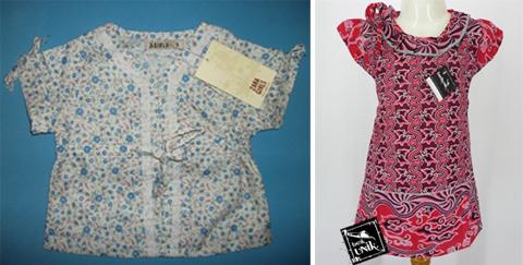 model baju atasan batik anak perempuan