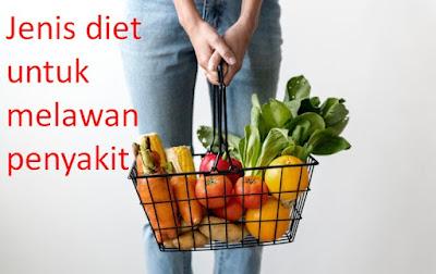 Diet, biasanya, identik, dengan, penurunan, berat, badan., Selain, itu,, diet, pun, juga, bisa, dilakukan, untuk, melawan, penyakit, lho!