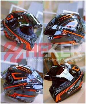KYT FULL UPGRADE VARIASI | HELM MAKASSAR