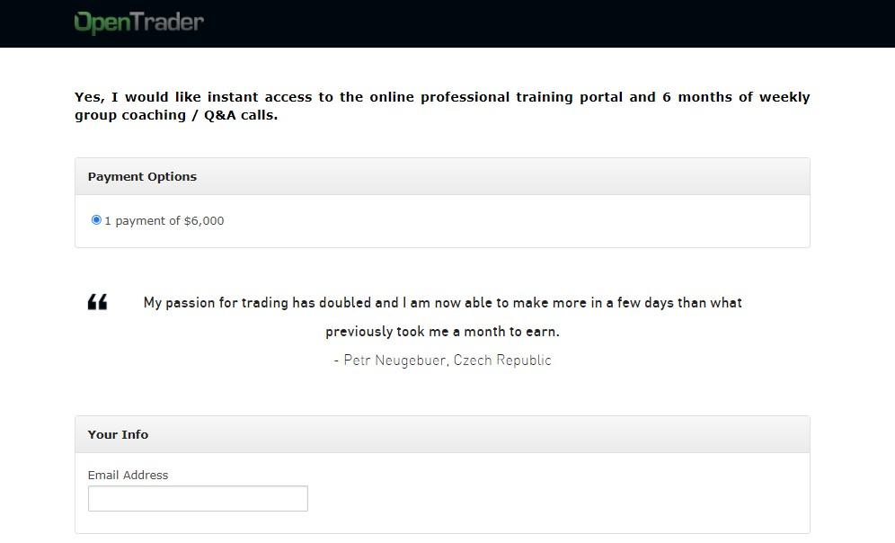 [Download] Open Trader PROFESSIONAL TRAINING PROGRAM [Worth 6000$+] Free Download - Google Drive Links