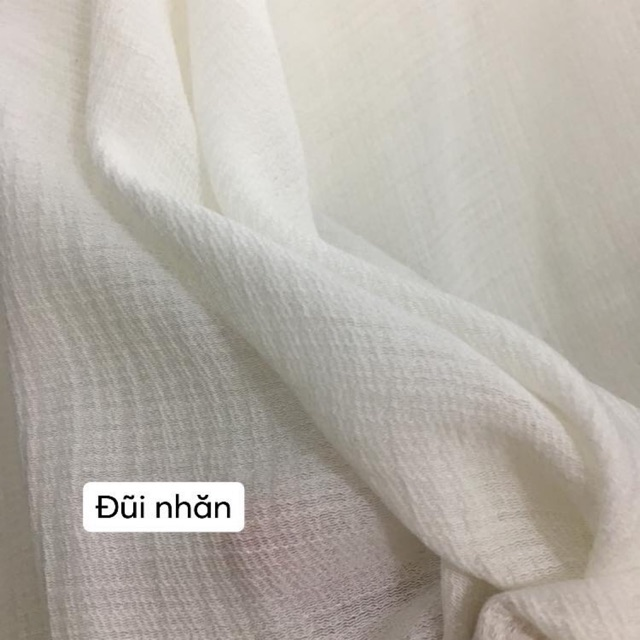 Mẫu vải đũi nhăn