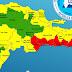 COE eleva cinco provincias a nivel de alerta roja ante Potencial Ciclón Tropical