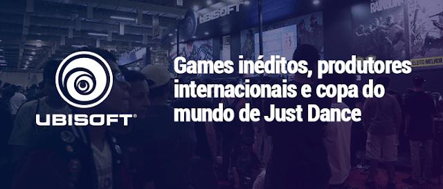 A Ubisoft fará parte da Brasil Game Show e trará uma grande quantidade de jogos para a feira. O evento acontece entre os dias 01 à 05 de setembro e terá cobertura do site MeuXP.