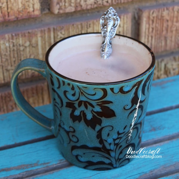 Hot cocoa recipe, perfect for a single cup of hot chocolate
