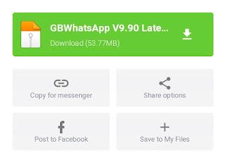 Download GB WhatsApp versi terbaru