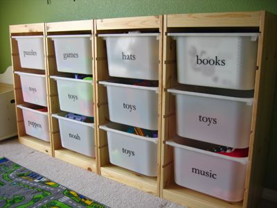 DIY - estante e caixas organizadoras