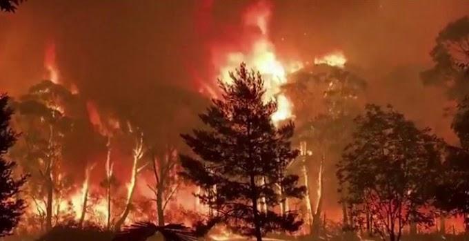 Australia bushfire-State of emergency e phatlalalitse Australia