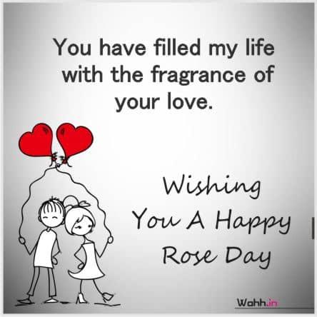 Beautiful Rose Day Status images