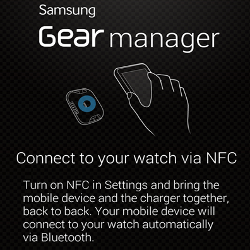 The interface of the Samsung smartwatch Gear, two screen interface and some functions of the smartwatch Gear Samsung catches expected on September 4