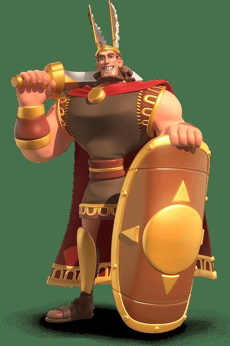 Herman rise of kingdoms komandan pemanah