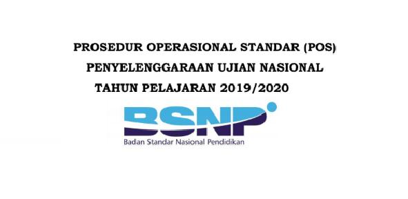 Pos Penyelenggaraan Ujian Nasional Tahun ajaran 2019/2020