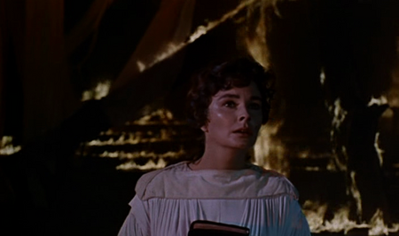 Jean Simmons Elmer Gantry 1960 movieloversreviews.filminspector.com