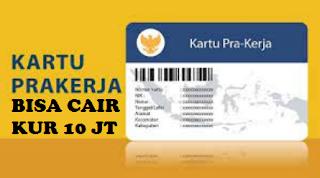 Alumni Prakerja Bisa dapatkan pinjaman KUR 10 juta. Syarat: Sertifikat pelatihan