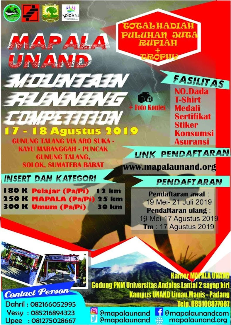 Mapala Unand Mountain Running Competition • 2019