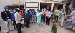 निजी डॉक्टरों की ली बैठक,निकाय द्वारा बनाये कोविड सहायता केंद्र पर देगे सेवाएं