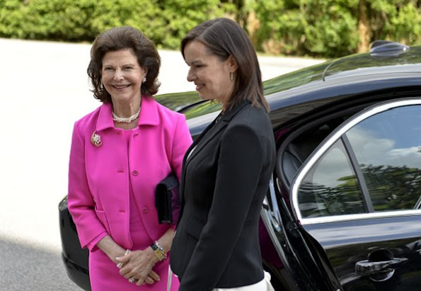 Queen Silvia of Sweden attended the conference of 'Towards Childhoods free from Corporal Punishment' held in Austria, Vienna.
