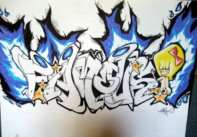 Awasome Graffiti: Graffiti Creator 3D
