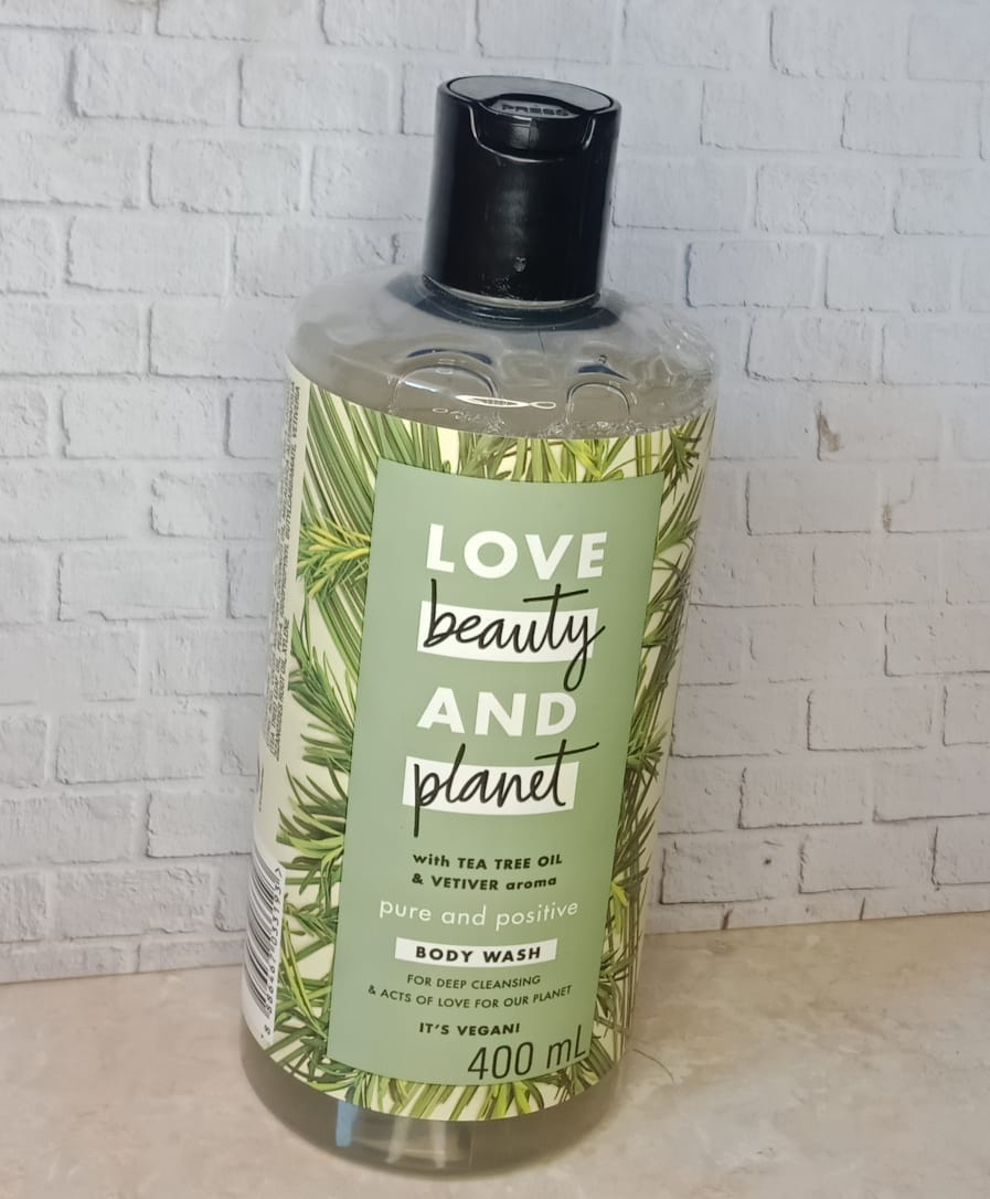 Love Beauty And Planet Tea Tree Oil And Vetiver