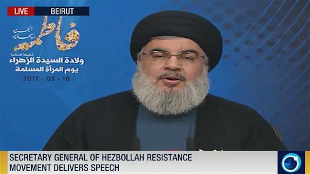Israeli Prime Minister Benjamin Netanyahu seeks end to Russia airstrikes in Syria to avert Israel's collapse: Secretary general of Lebanon's Hezbollah resistance movement, Sayyed Hassan Nasrallah
