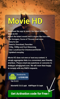 MOVIE HD APP For Android