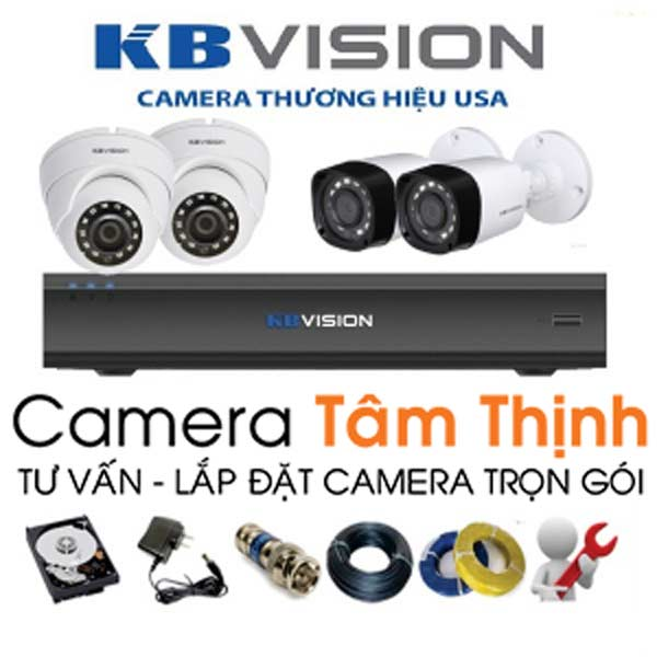 camera kbvision trọn bộ