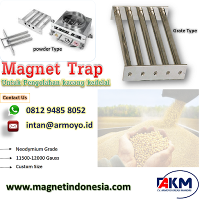 Magnet Trap 11500-12000 gauss Untuk kacang kedelai