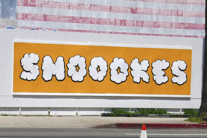 Smoookes Converse Cons street poster