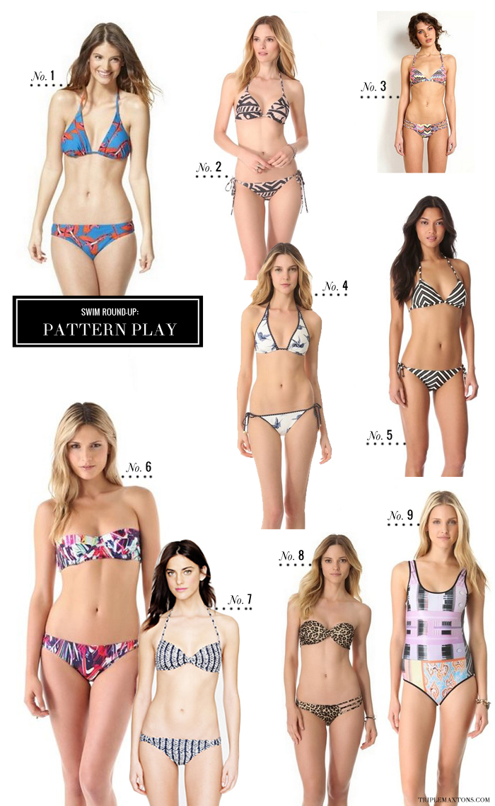 7edb7fd1496cb Sports Illustrated Cover-Worthy Swim Round-Up  Cut Out   Patterned ...