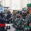 Sinergitas Polwan Brimob Polda Sulsel Dengan Prajurit TNI, Perketat Pengamanan Di Gereja Katedral