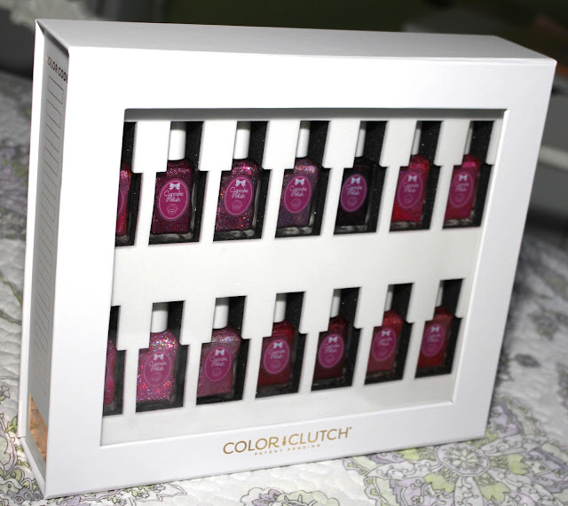 Color Clutch Nail Polish Organizer Review