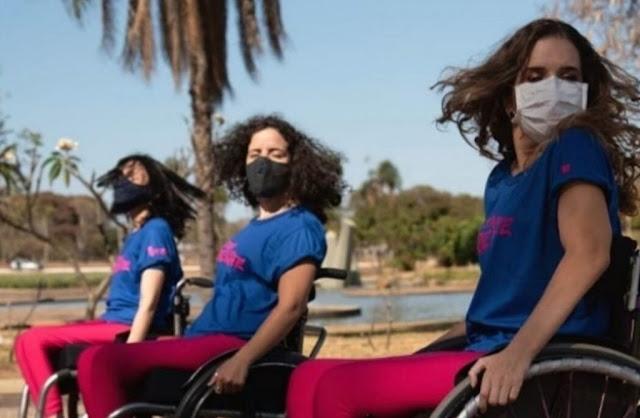Street Cadeirante: dançarinas do DF revelam conexão do ritmo com a alma