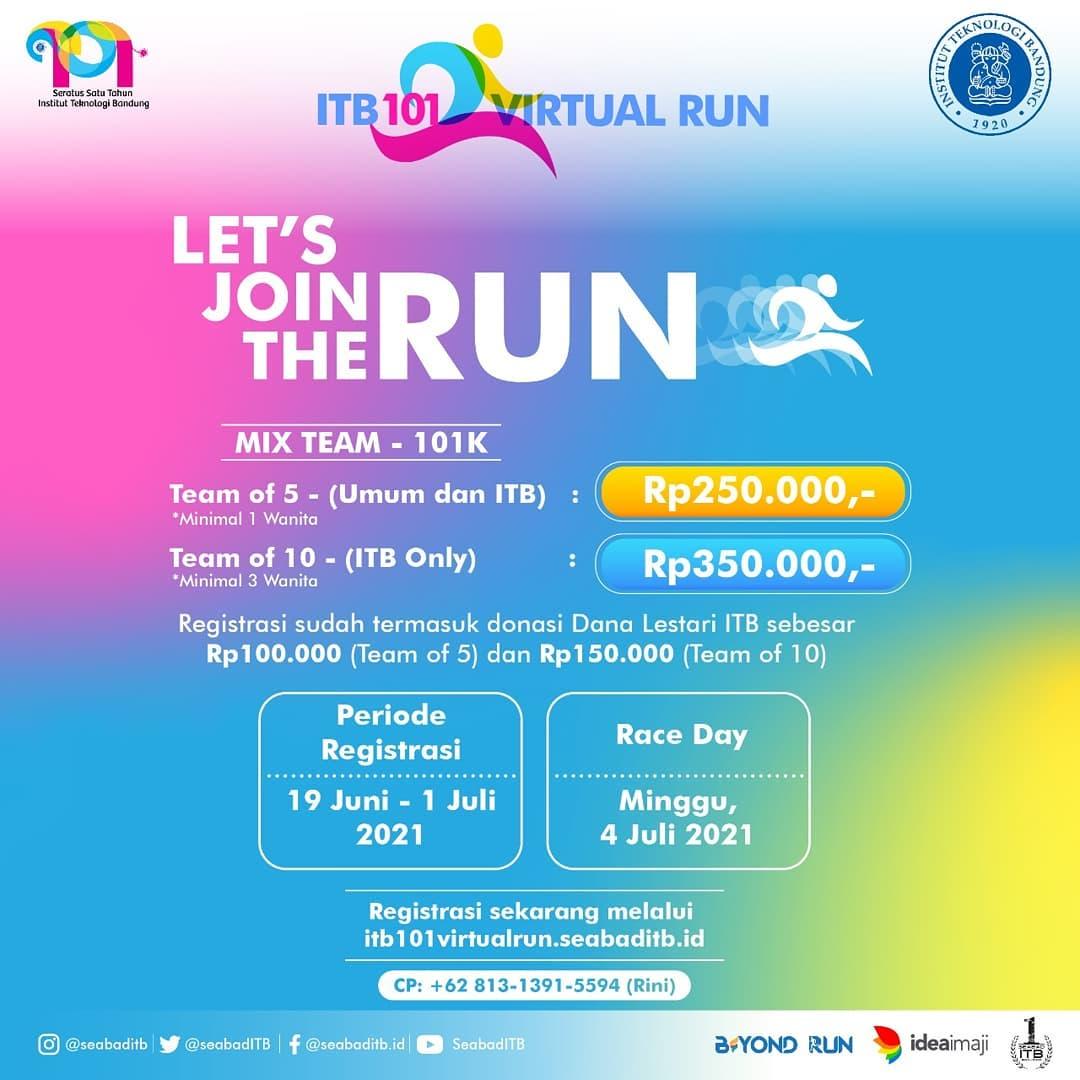 ITB 101 Virtual Run • 2021