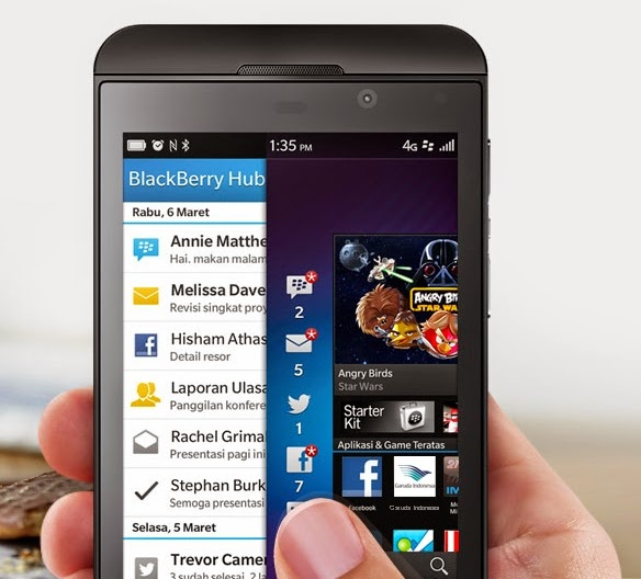 BlackBerry Z10 - Beritagadgets.com