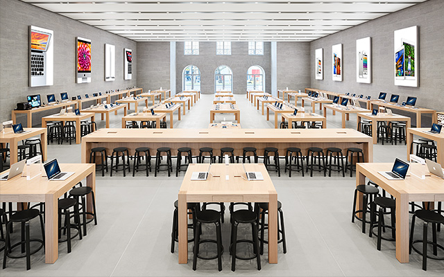 helsinki design alvar aalto barhocker in apple stores. Black Bedroom Furniture Sets. Home Design Ideas