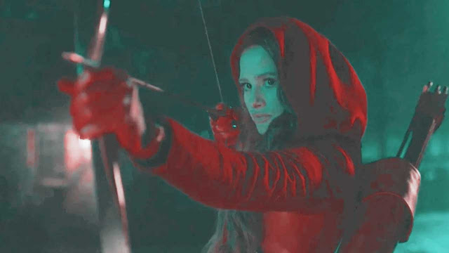 CHERYL'S ARROW VS THE BLACK HOOD