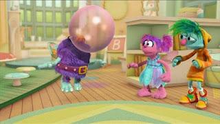 Abby's Flying Fairy School Fly Me to the Goon, Abby Cadabby, Blögg, Gonnigan, Letter B Day, Sesame Street Episode 4417 Grandparents Celebration season 44