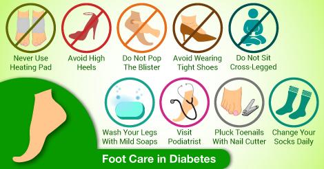 Tips For Diabetes Foot Care For Diabetic Patients Diabetes Foot Care