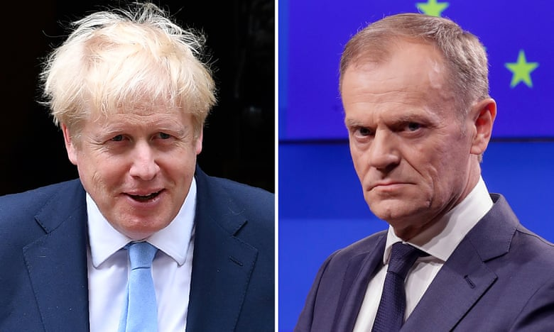 Brexit : Donald Tusk rejette la proposition de Boris Johnson - nouvelles en direct