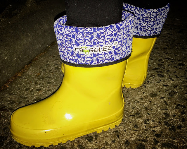 Frogglez Rain Boots for Kids