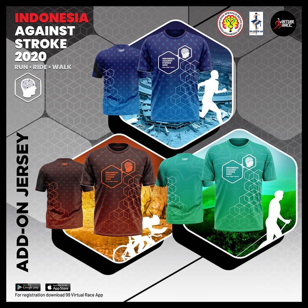Jersey - Run Ride Walk Indonesia Against Stroke • 2020