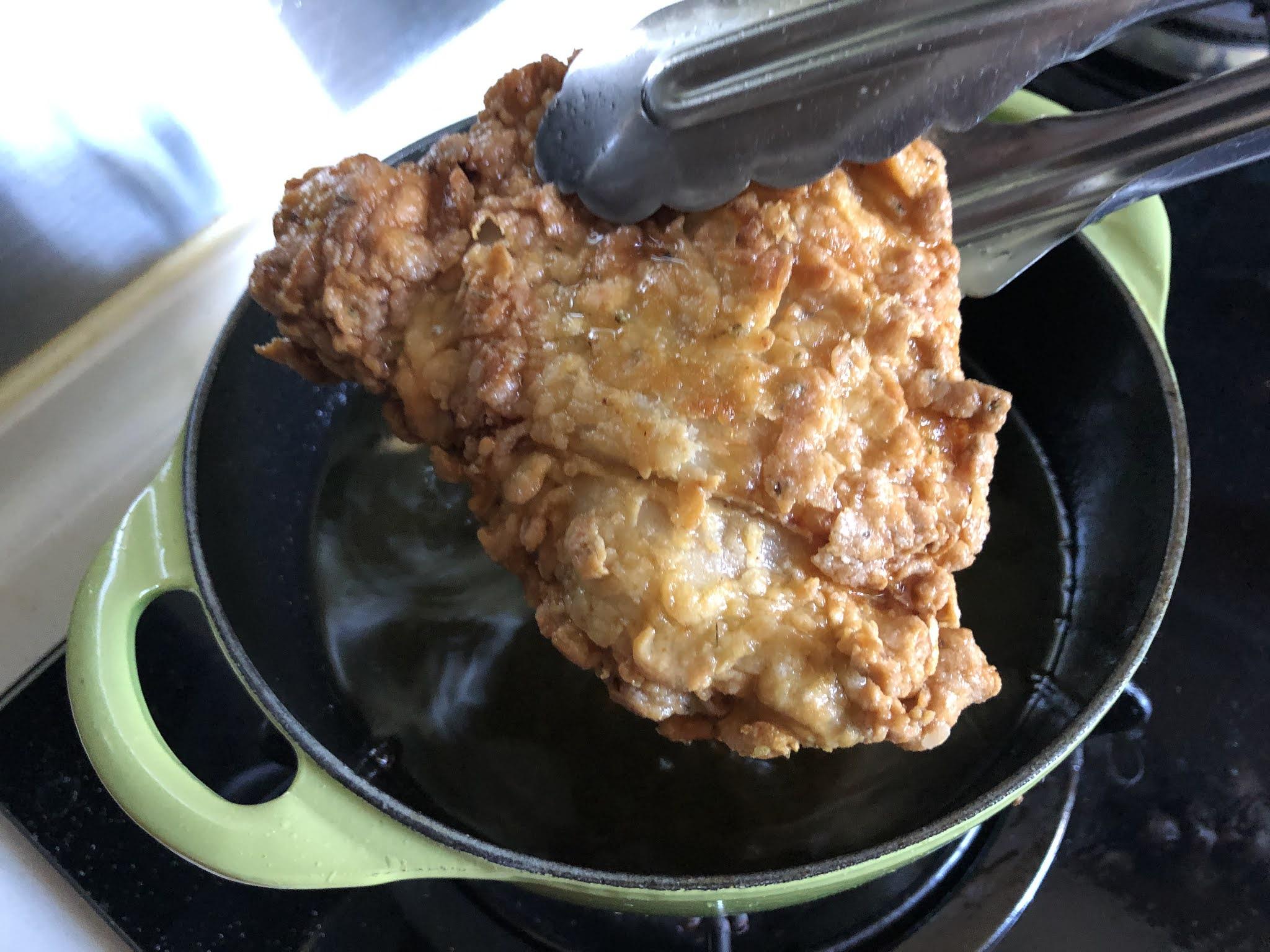 ~CANDICE KITCHEN~自家浪漫美食行: 嫩滑雞肉配方實驗:偽KFC香辣炸雞(附食譜)