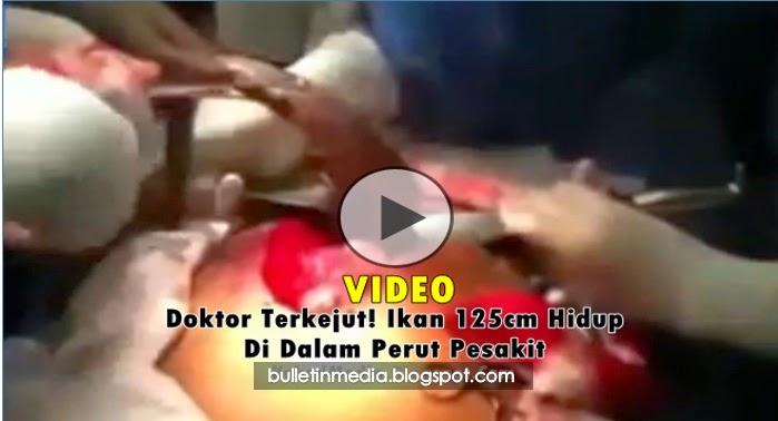 Video Mengerikan!!..Doktor Terkejut Apa Yang Dikeluarkan Dari Perut Pesakit..