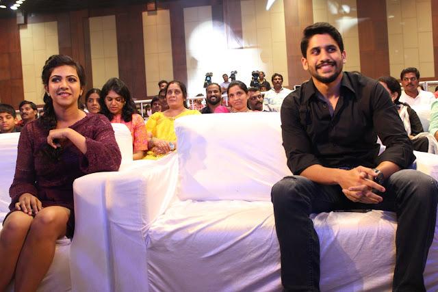 Naga chaitanya,Madonna Sebastian at Premam telugu movie audio launch