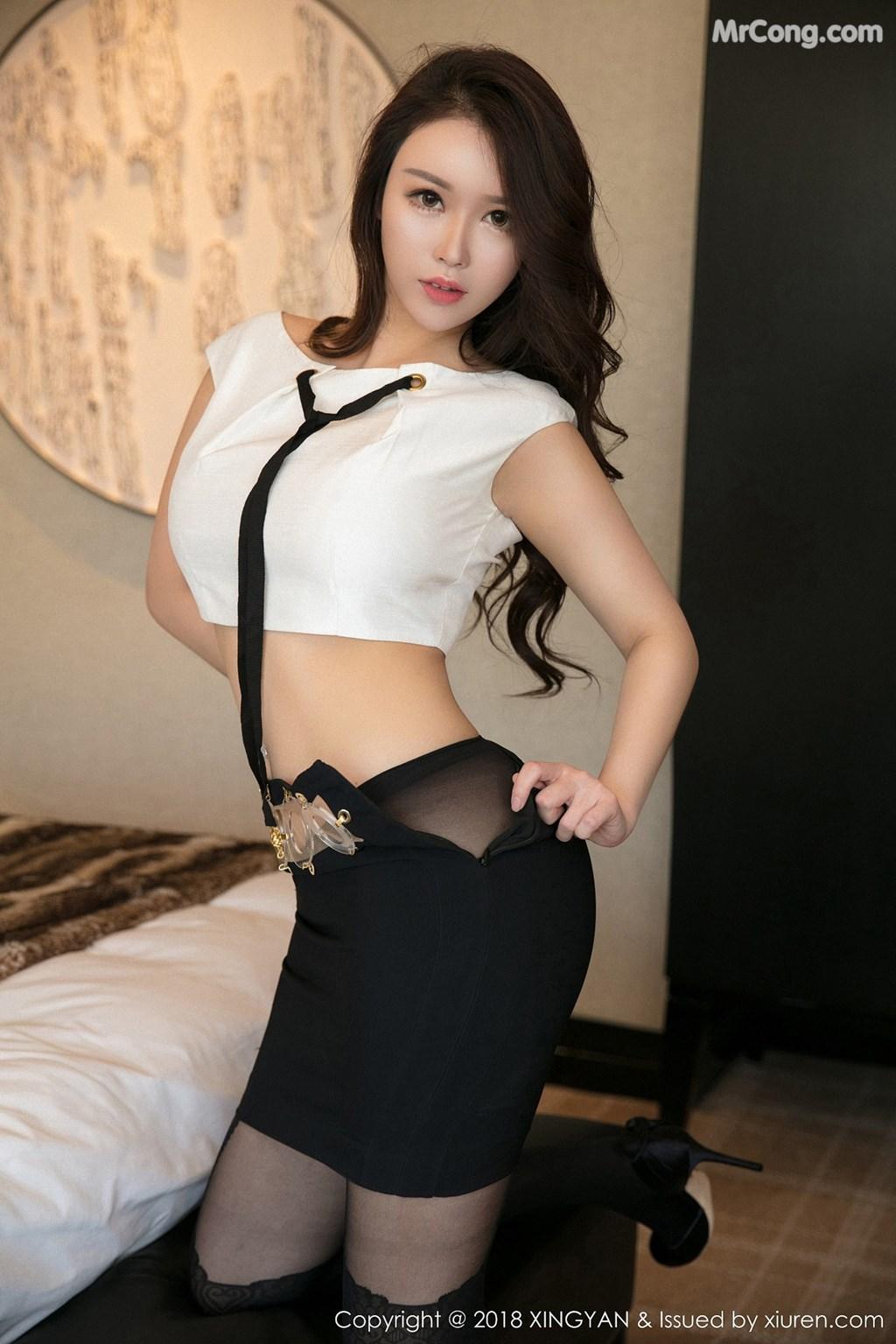 Image XingYan-Vol.078-Egg-MrCong.com-004 in post XingYan Vol.078: Người mẫu Egg_尤妮丝 (50 ảnh)