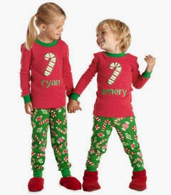 Chasing Fireflies Personalized Christmas Candy PJ's