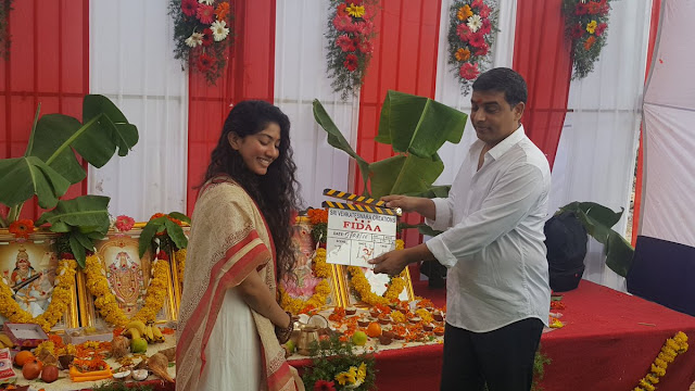 Fidaa movie Muhurtam shot on Sai pallavi