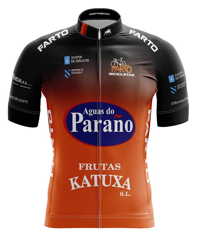 El equipo Farto - Aguas do Paraño presenta su nuevo maillot y su plantilla